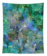Dance Of The Flowers Tapestry