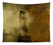 Dark Gothic Cloud Tapestry
