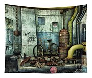 Dark Places Tell Stories Tapestry