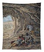 David Cuts Sauls Robe Tapestry