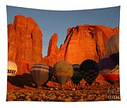 Dawn Flight In Monument Valley Tapestry