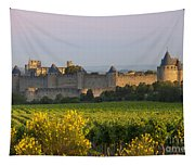 Dawn In Carcassonne Tapestry