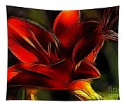 Day Lily Fractal Tapestry