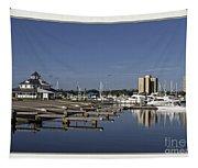 Daytona Boat Launch Tapestry