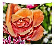 Dazzling Rose Tapestry