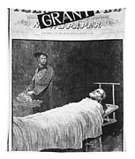 Death Of Ulysses S. Grant Tapestry