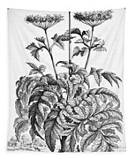Decorative Flower Tapestry