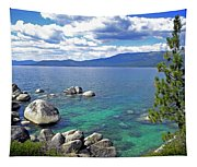 Deep Waters Lake Tahoe Tapestry