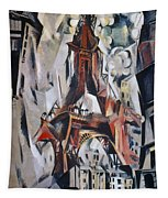 Delaunay: Eiffel Tower, 1910 Tapestry