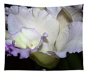 Delicate Purple Orchid Tapestry