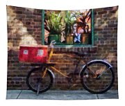 Delivery Bicycle Greenwich Village Tapestry