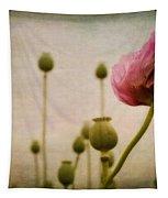 Depth Of Poppy Field Tapestry by Priska Wettstein