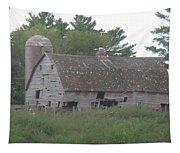 Deserted Barn Tapestry