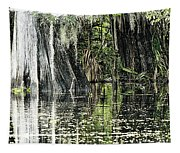 Details Of A Florida River Tapestry