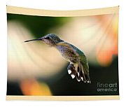 Determined Hummingbird Tapestry