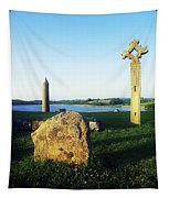Devenish Island, Co Fermanagh, Ireland Tapestry