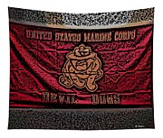 Devil Dogs Tapestry