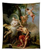 Diana And Endymion Tapestry
