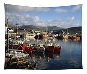 Dingle, Co Kerry, Ireland Boats In A Tapestry