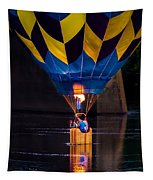 Dipping The Balloon Basket Tapestry
