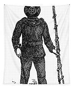 Diving Suit, 1855 Tapestry