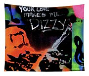 Dizzy Love Tapestry