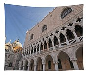 Doges Palace Off Piazza San Marco Or Tapestry