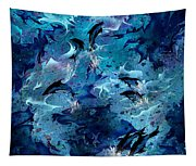 Dolphin Enchantment Tapestry