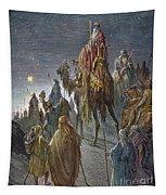 Dor�: Journey Of The Magi Tapestry