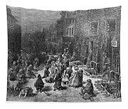 Dor�: London, 1872 Tapestry