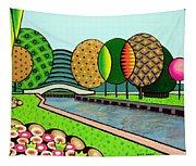 Doty Park Fluorescent Tapestry