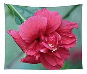 Double Hibiscus Tapestry