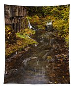 Down By The Old Mill Stream Tapestry