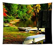Down By The Riverside Tapestry