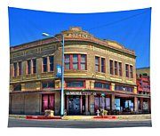 Downtown Shiner Texas Tapestry