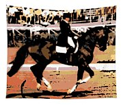 Dressage Competition Tapestry