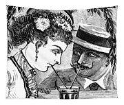 Drinking, 1875 Tapestry