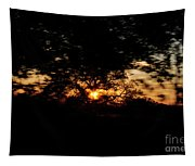 Drive By Sunset Tapestry