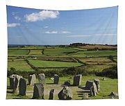 Drombeg Stone Circle Near Glandore In Tapestry