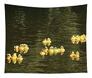 Duck Derby Ducks Tapestry