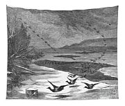 Duck Hunting, 1871 Tapestry