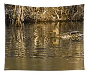 Duck Ripples Tapestry