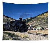 Durango And Silverton Train Tapestry