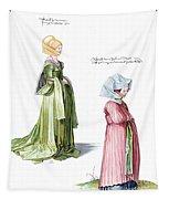 Durer: Fashion, 1500 Tapestry