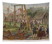 Dutch & Native American Trade Tapestry