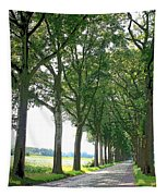 Dutch Road - Digital Painting Tapestry