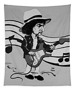 Dylan In Black And White Tapestry