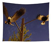 Eagles Suspended Tapestry