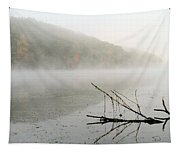 Early Autumn Morn Tapestry