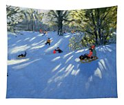 Early Snow Tapestry